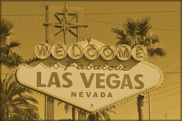 Las Vegas Sign in range overlay
