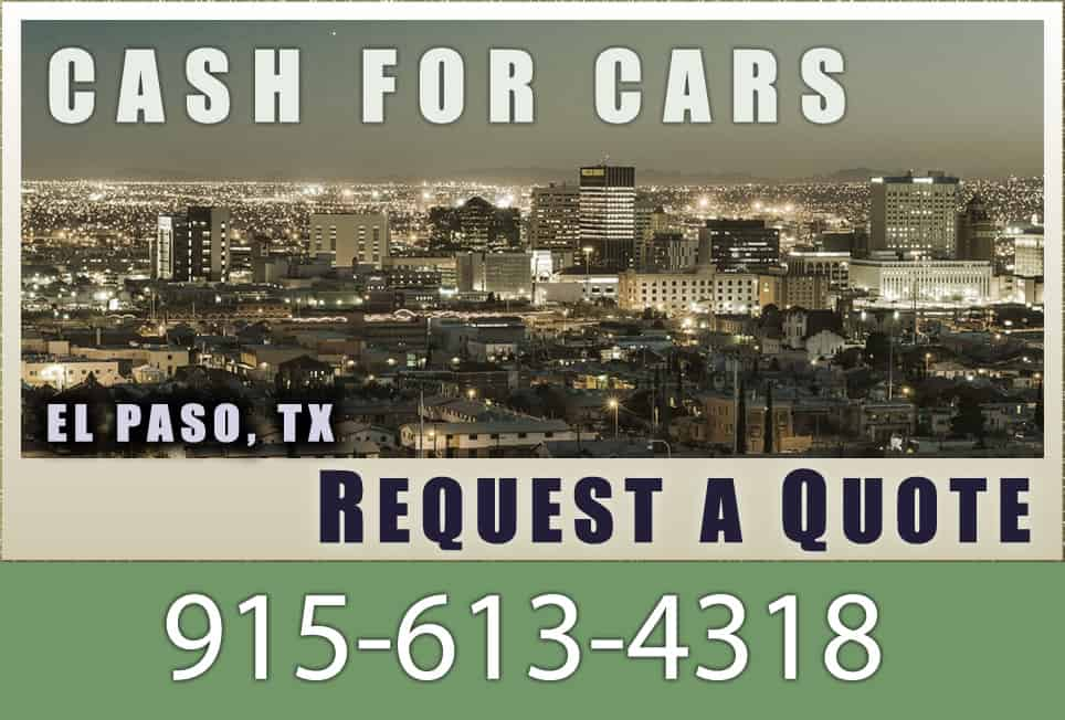 Sell My Car El Paso – Cash For Cars