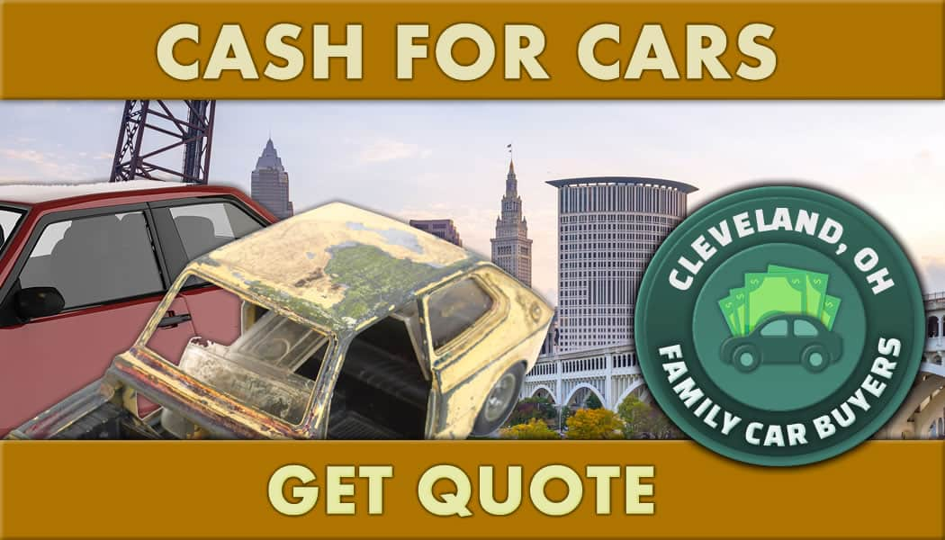 Junk vehicles get quote on Cash For Cars Cleveland